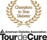 I am trying to raise at least $1000 ... which will make me a Champion to Stop Diabetes!